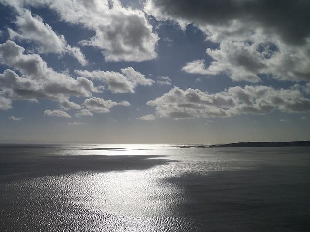 clouds, sky, swansea